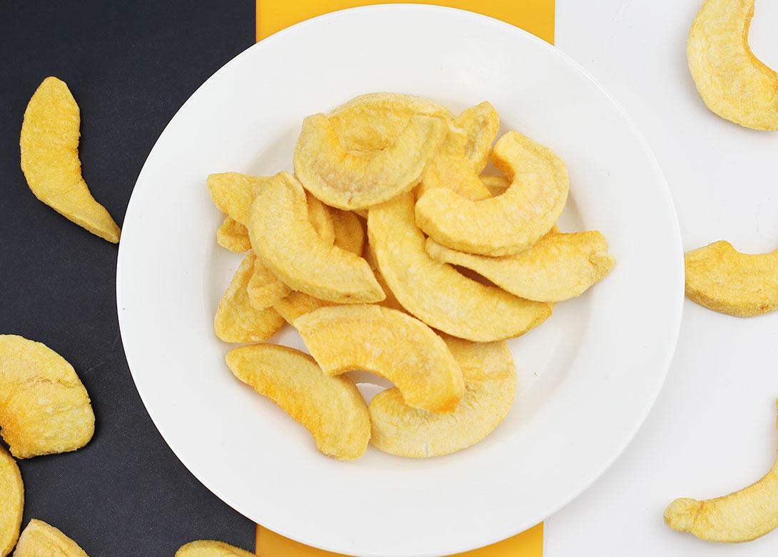 黄桃干-水果脆