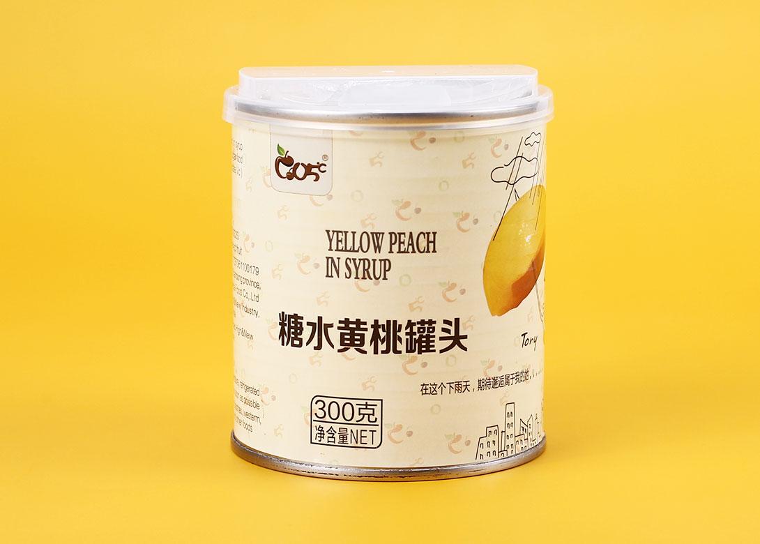 糖水黄桃罐头300g