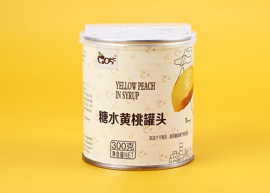 水果加工成易开盖罐头更美味